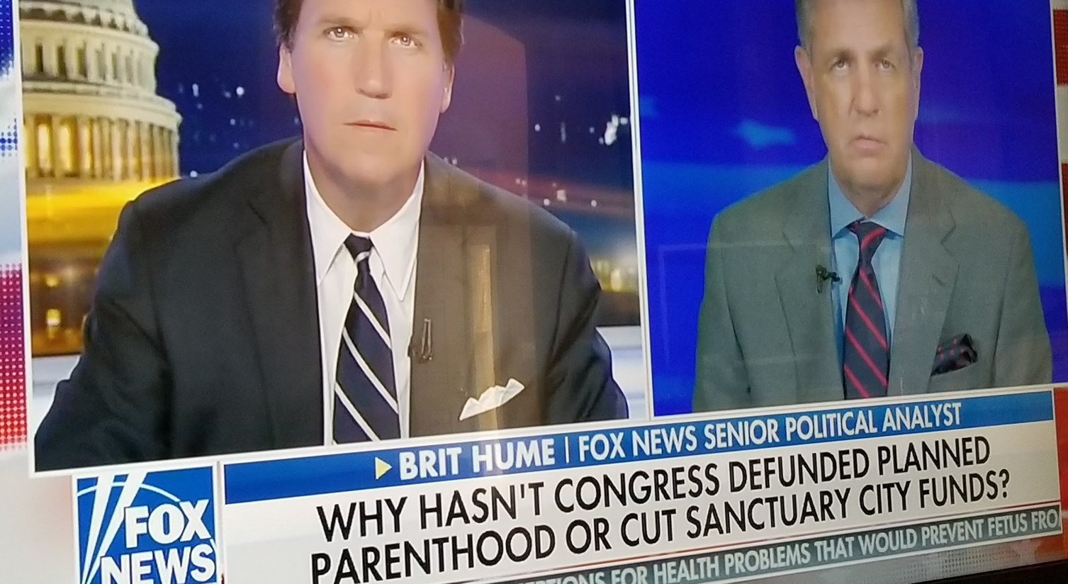 FNC: Pres. Trump and Republican Congress still funding PP at Obama level of $500M a year