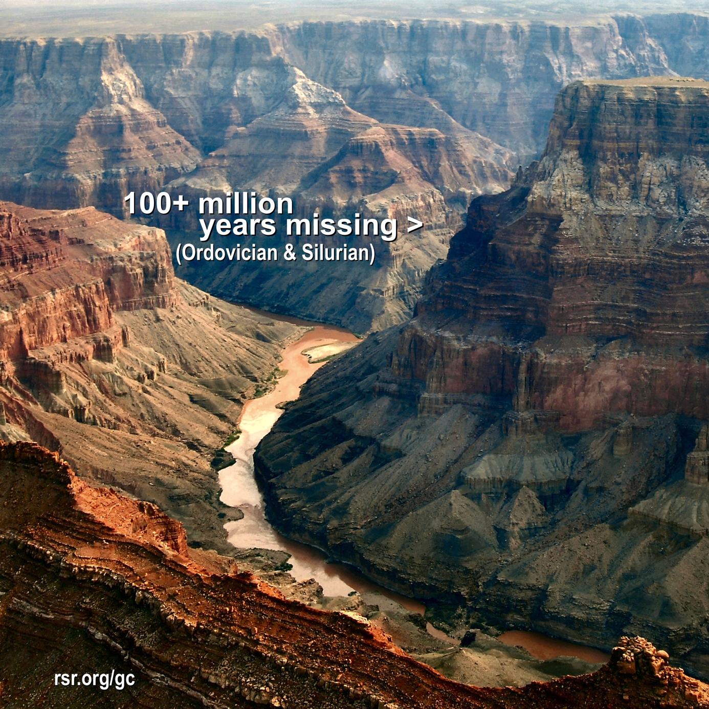 Grand Canyon missing Ordovician and Silurian
