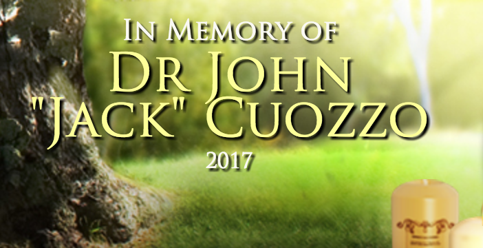 Image notice of Dr. Cuozzo's passing...