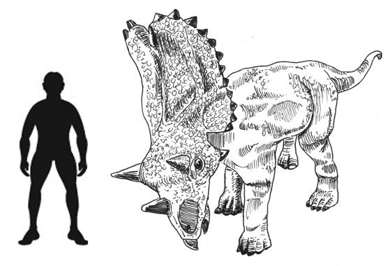 Utahceratops gettyi named for Mike