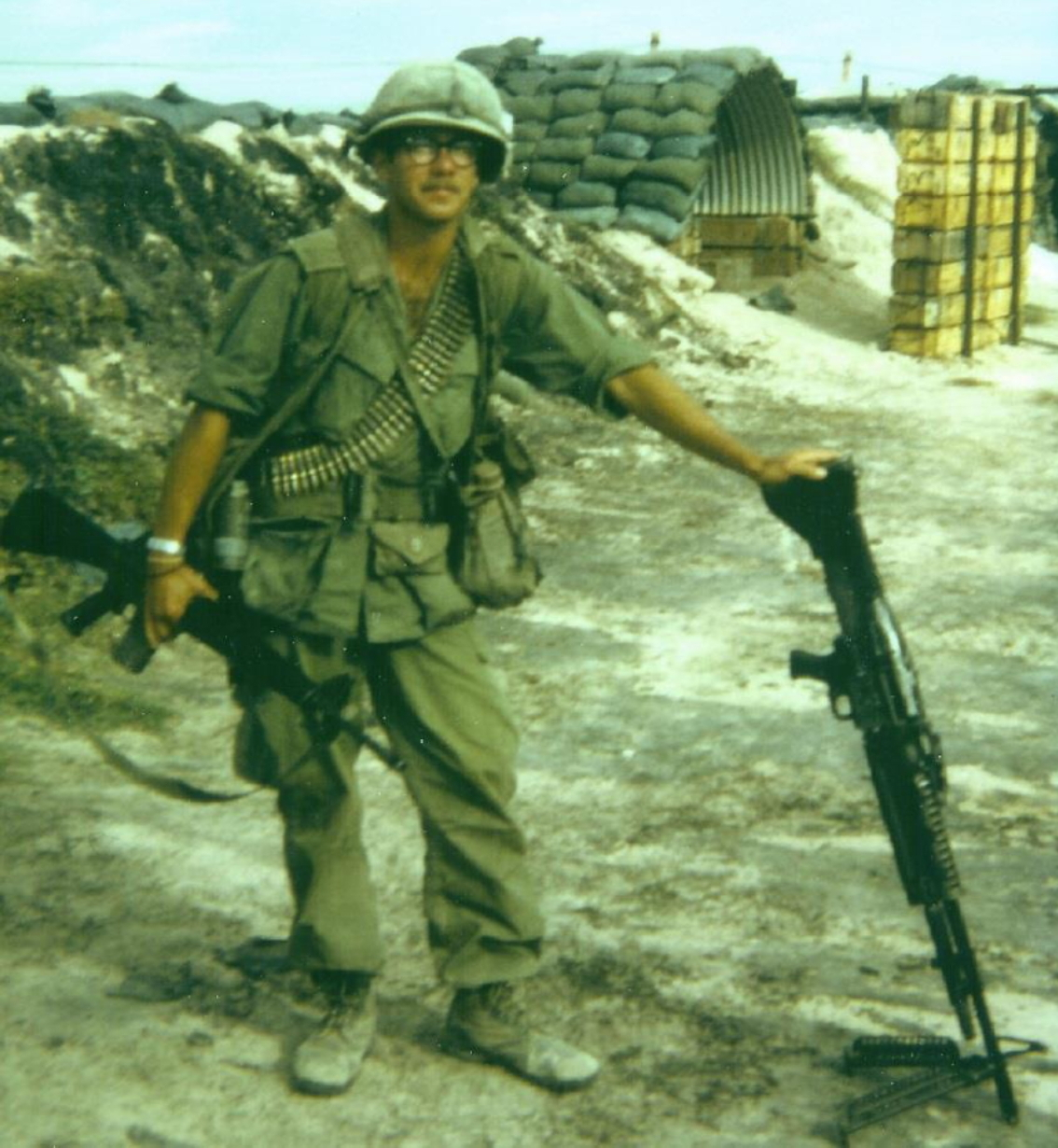 Richard Hogue: Firebase Patton, NW of Cu Chi, 1969