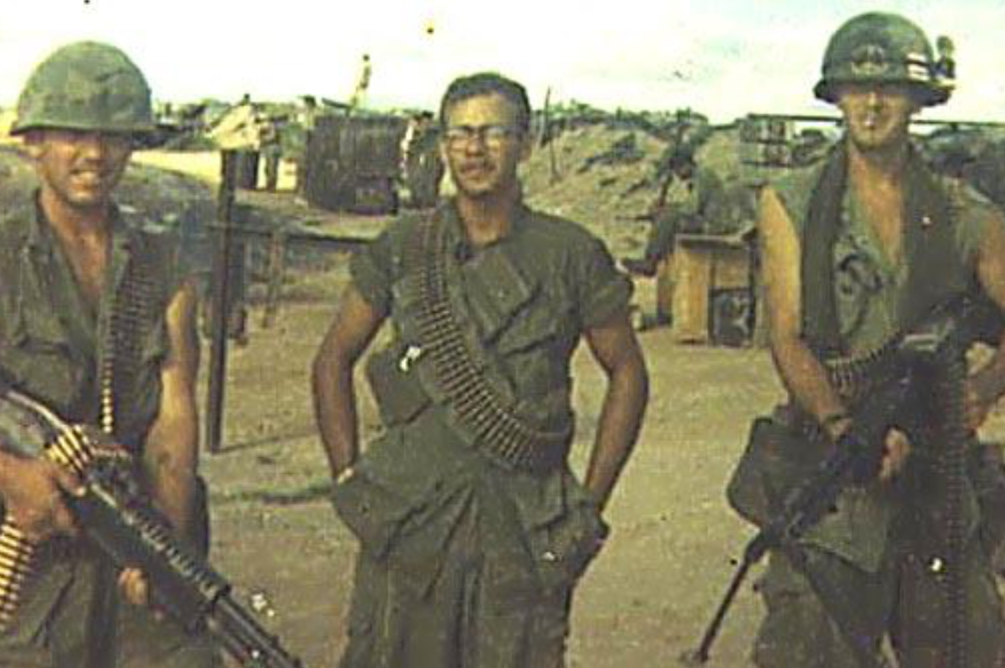 Emery, Hogue, and Debiasio. Bob KIA 12/28/69; Wop died of cancer related to agent orange exposure.