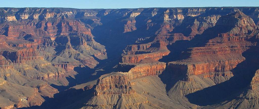 Grand Canyon parallel layers