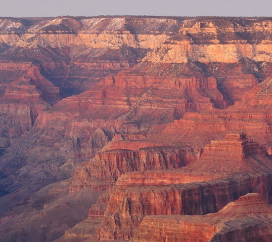 Grand Canyon parallel flat gap boundaries between strata refutes millions of years of deposition