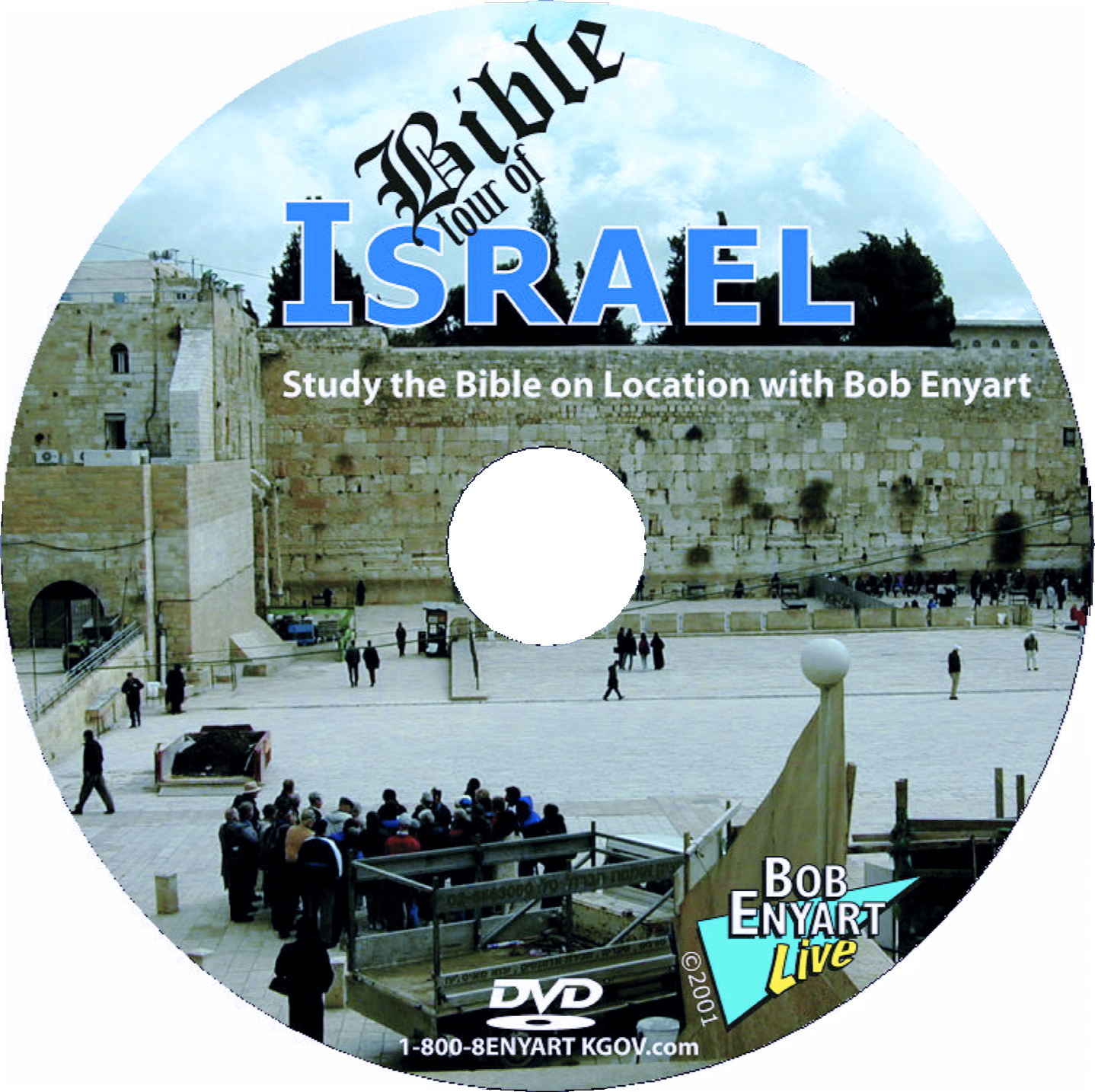 Bob Enyart's Bible Tour of Israel DVD cover
