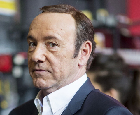 Homosexual actor Kevin Spacey pictured after rape, molestation, and harassment allegations hit